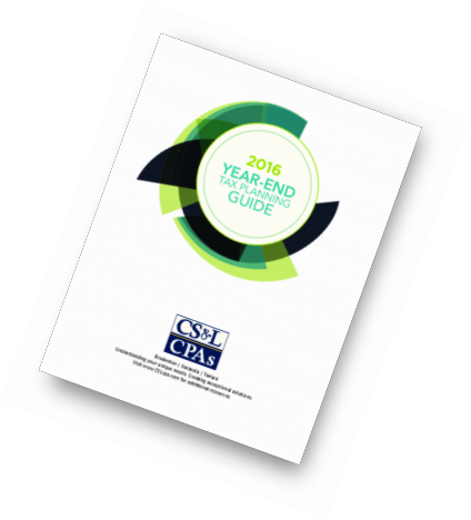 CSLCPA 2016 YE Tax Planning Guide